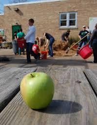 kids green apple